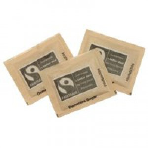 Fairtrade Sugar Sachets Brown Demerara Ref A03621 [Pack 1000]