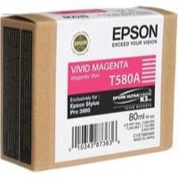 Epson T580A00 Magenta Inkjet Cartridge
