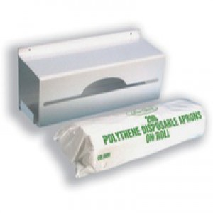 Maxima Apron Roll Dispenser Wall Mountable holds 200 Aprons Ref VPPAPD