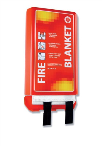 IVG Fire Blanket Woven Glass Fibre 1100x1100mm Ref IVGSFB1M