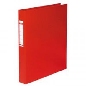 Elba Red 2-O Ring A4 Binder Pk10