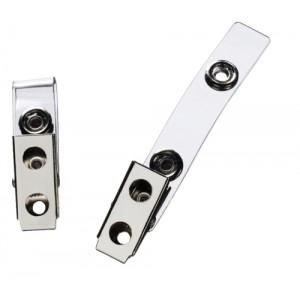 GBC Mylar ID Badge Lapel Straps Pack 100 Code EH500000