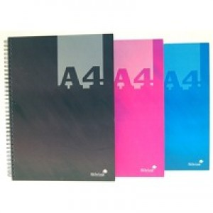 Silvine A4 Hardback Notebook Pk6