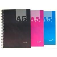 Silvine A5 Wire Hardback Notebook Pk12