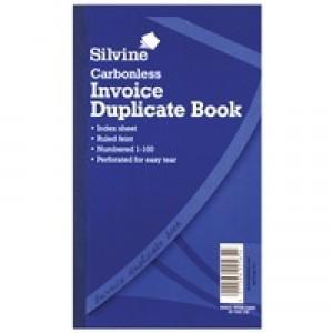Silvine Cbnl Dup Inv Bk 1-100 8X5 711