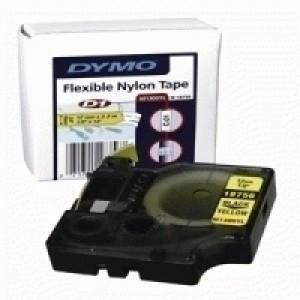 Dymo Rhinopro Industrial Tape Flexible Nylon 12mm White Code S0718100