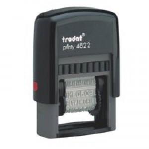 Trodat Printy 4822 Multi-word Band Stamp 12 words 4mm print Ref 74046