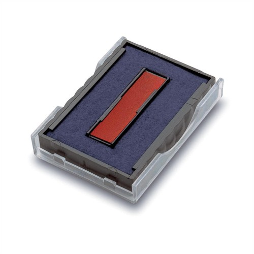 Trodat Printy Textplate Dater with Red and Blue Ink Cartridges