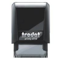 Trodat Printy VC/4910 Custom Stamp Self-Inking Up to 3 lines 26x10mm Ref 199881