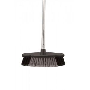 Bentley Soft Bristle Broom Indoor Chrome Handle 12in Code HL2801/G/F4