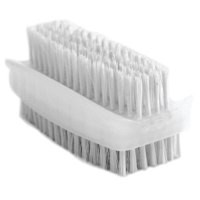 Bentley Nail Brush Double Sided Plasic White Code KG/CL190/2