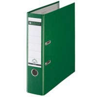 Leitz L/A File 80mm A4 Green 1010-55