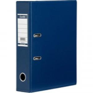 Elba PVC A4 Blue 50mm Lever Arch File