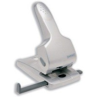 Rapesco Zero 65 Punch 2-Hole Heavy-duty with Lock-down Handle Capacity 65x 80gsm Silver Ref 0732