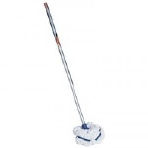 Mop Handle Aluminium Socket Blue