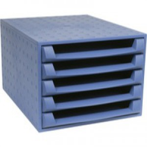 Forever 5-Drawer Set Blue 221101D