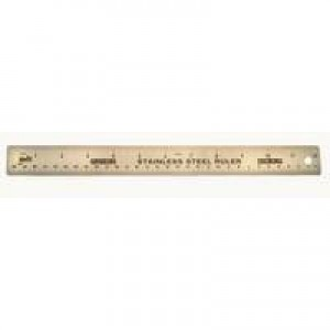 Helix Ruler 12 inch Steel T31010