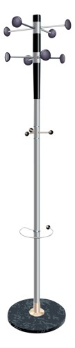 Decorative Coat Stand Grey