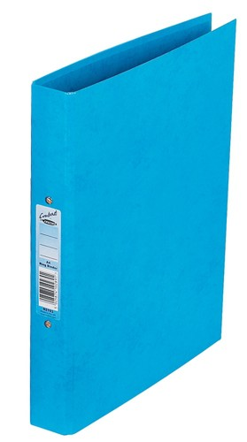 Concord Contrast Ring Binder Laminated 2 O-Ring Capacity 25mm A4 Sky Blue Ref 82193 [Pack 10]