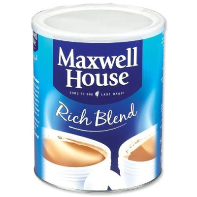 Maxwell House Instant Coffee Granules Rich Blend Tin 750g Ref A03126
