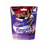 Cadbury Mini Fingers Pch Pack 125g Code A07360