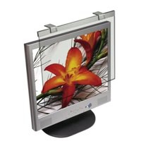 Compucessory Screen Filter Glass Anti-Glare-Radiation-Static CRT LCD 19in Black Frame Code CCS20560