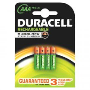 Duracell AAA Stay Chrg Entry Battery Pk4