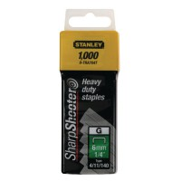 Image for Stanley 8mm 5/16in Type G Staples Pk1000