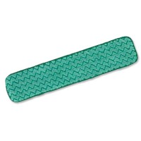 Image for Rubbermaid Dry Mop Head Microfibre 8mm High Pile 400mm Green Ref Q472-58 [Pack 10]