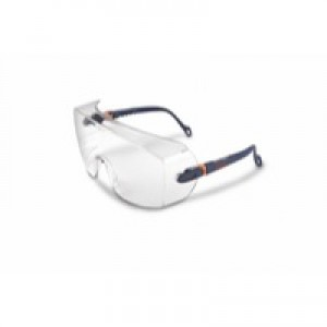 3M Classic Line Over Safety Spectacles Optical Class 1 Impact Resistant Integral Brow Guard Ref 2800 CLO