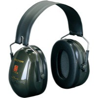 3M Peltor Ear Muffs High Comfort Seal 31dB Noise Reduction Ref OptimeII