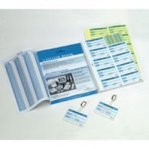 Durable Visitor Book 100Inserts Refill