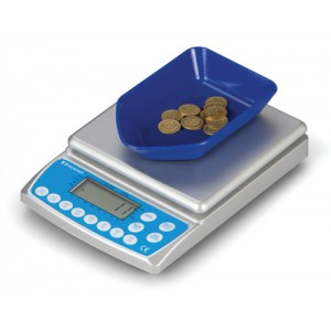 Salter Brecknell Coin Counter Electronic Checking Scale for all UK Coins Ref 402