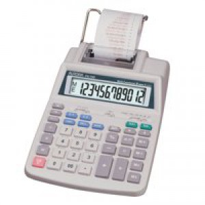 Aurora PR710 Calculator Printing Currency and Tax 12 Digit Battery and Mains