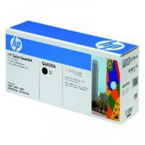 Hewlett Packard [HP] No. 124A Laser Toner Cartridge Page Life 2500pp Black Ref Q6000A