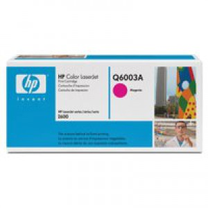 Hewlett Packard [HP] No. 124A Laser Toner Cartridge Page Life 2000pp Magenta Ref Q6003A