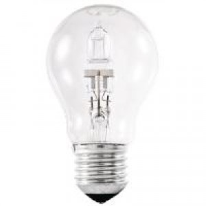 Stearn Electric Light Bulb Energy-Saving Halogen Screw Fitting 42watt Clear Code 42ESCCLRGLS