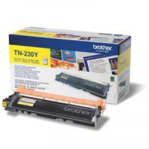 Brother TN-230Y Laser Toner Cartridg Yellow Code TN230Y