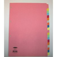Concord Subject Dividers 230 Micron 20-Part A4 Ref 74499