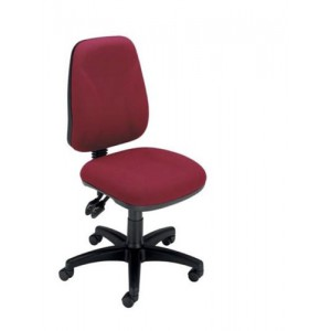 Trexus Intro High Back Permanent Contact Chair Seat W490xD450xH440-560mm Back H490mm Burgundy