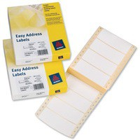Avery Easy Address Labels 89x37mm Ref EAL01 [500 Labels]
