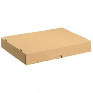 Self Locking Box Carton and Lid A4 305x215x50mm [Pack 10]