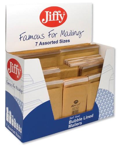 Jiffy Airkraft Bag Selection Box Gold Pack 50 Code 50-6