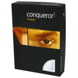 Conqueror Paper Smooth/Satin FSC4 A4 Wove Cream 100Gm2 Watermarked Pack 500
