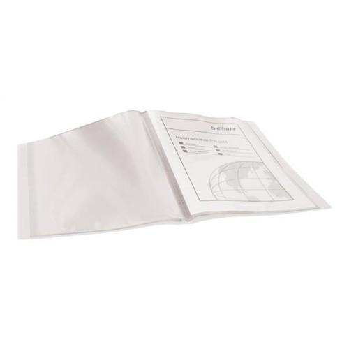 Pukka Display Book Polypropylene 20 Pockets A4 Clear