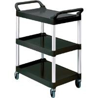 Rubbermaid Compact Utility Trolley Black Finish