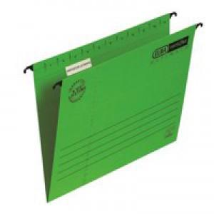 Elba Verticflex Ultimate Suspension File Manilla 240gsm Foolscap Red Ref 100331172 [Pack 25]