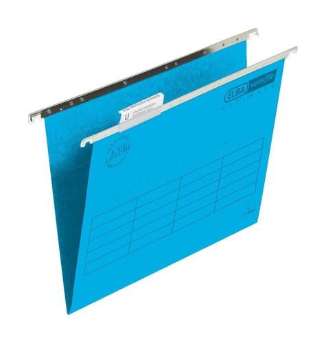 Elba Verticfile Ultimate Suspension File Foolscap Blue