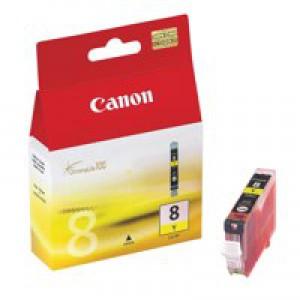 Canon CLI-8Y Inkjet Cartridge Yellow Ref 0623B001