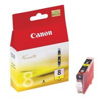 Canon CLI-8Y Inkjet Cartridge Yellow Ref 0623B001